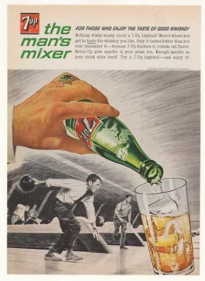 Retro Alcohol Ads 7up