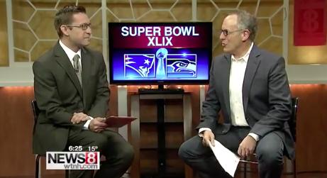 Chuck Talks Super Bowl Commercials on WTNH