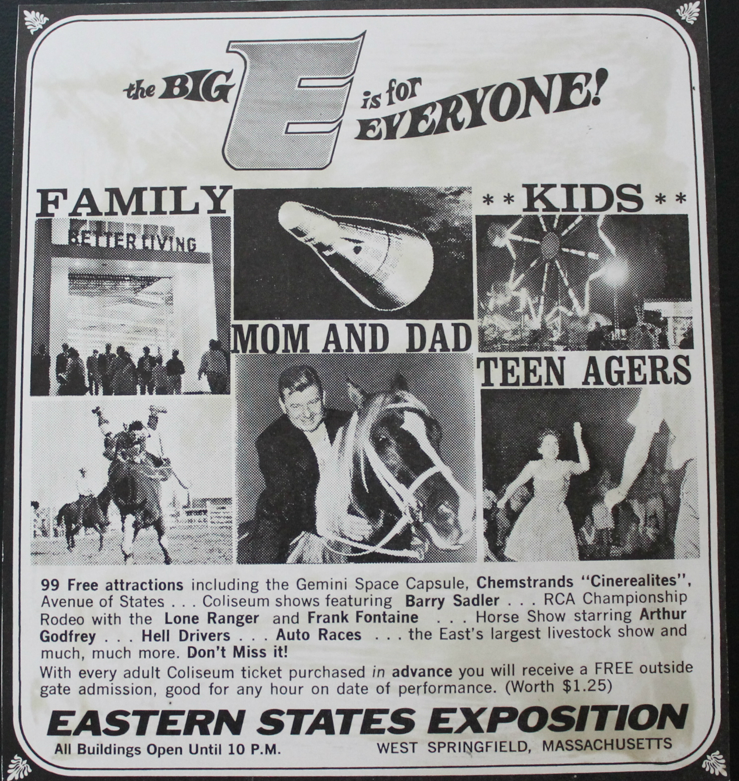 state fair advertising    retro ad of the week  the big e  1966