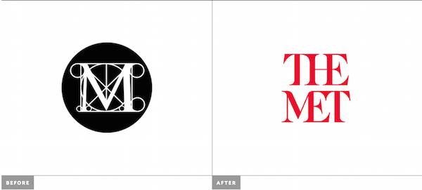 museum logo design the met