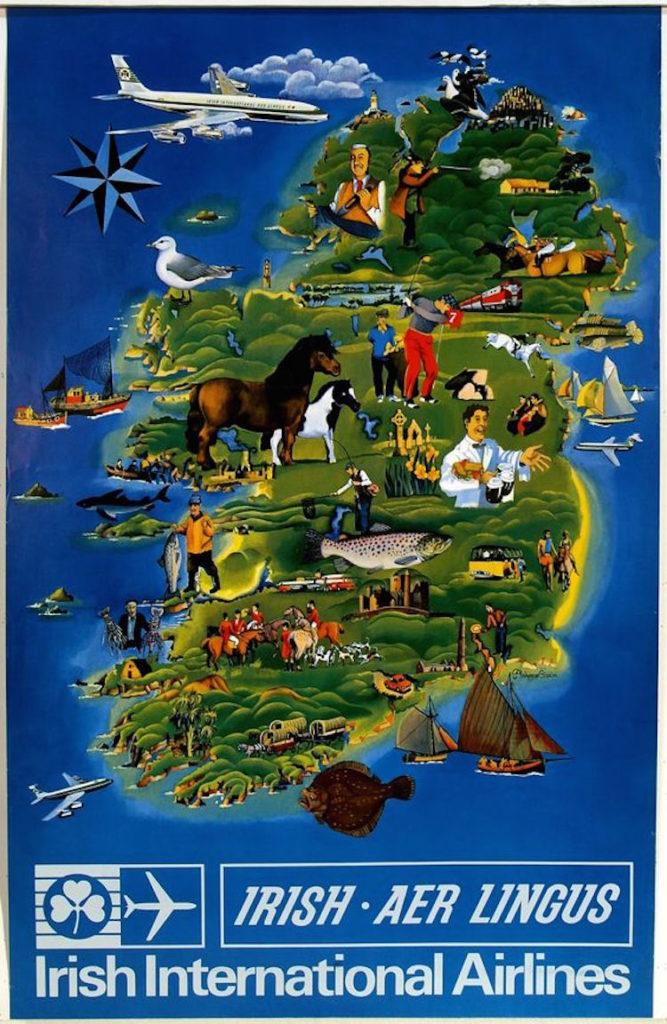 irish airline ad