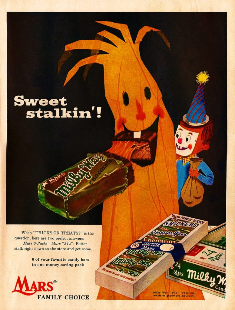 Retro Candy Ad