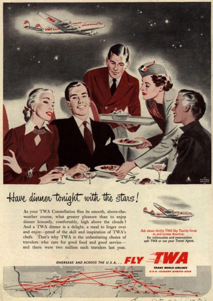 TWA airline marketing