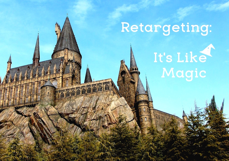 magic retargeting ads for theme parks